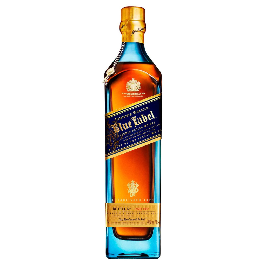 JOHNNIE WALKER BLUE LABEL 100CL 40% may